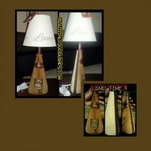 FUR LAMP